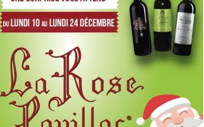 Pour les fêtes La Rose Pauillac vous couvre de cadeaux !🎁